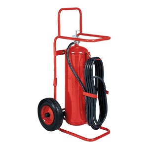 Badger 50 lb ABC Wheeled Stored Pressure Fire Extinguisher