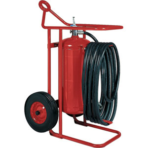 Badger 125 lb ABC Wheeled Stored Pressure Fire Extinguisher