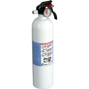 Kidde Kitchen 2 3/4 lb BC Fire Extinguisher w/ Wall Hook (Disposable)