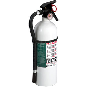 Kidde Living Area 4 lb ABC Fire Extinguisher w/ Wall Hook (Disposable)