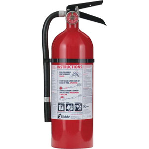 Kidde Consumer 4 lb ABC Fire Extinguisher w/ Wall Hook