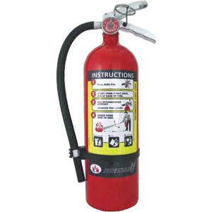 5 lb ABC Extinguisher w/ Wall Hook  Badger Advantage