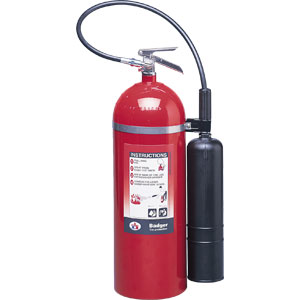 Badger Extra 20 lb CO2 Fire Extinguisher w/ Wall Hook