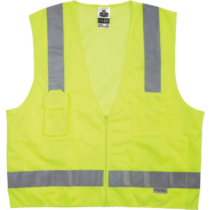 GloWear Surveyors Vest, Lime, L/XL