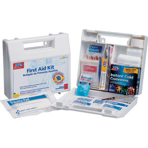 10-Person First Aid Kit (Plastic)