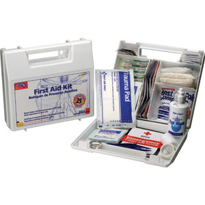 25-Person First Aid Kit (Plastic)