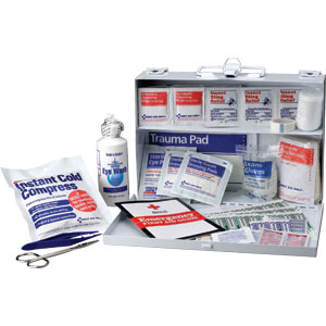 25-Person First Aid Kit (Metal)