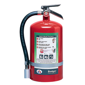 Badger Extra 11 lb Halotron I Fire Extinguisher w/ Wall Hook