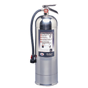 Badger Extra 2 1/2 gal Wet Chemical Fire Extinguisher w/ Wall Hook
