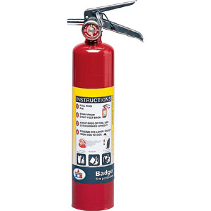 Badger Extra 2 1/2 lb ABC Fire Extinguisher w/ Vehicle Bracket