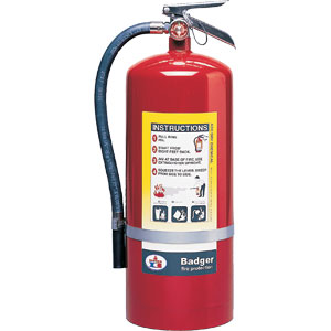 Badger Extra 20 lb ABC Fire Extinguisher w/ Wall Hook