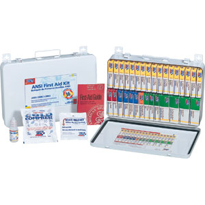 36-Unit ANSI First Aid Kit w/Gasket (Metal)