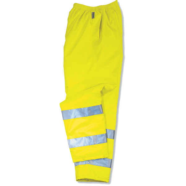 GloWear 8915 Rain Pants, Lime, M