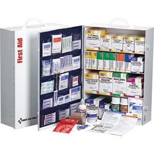 4-Shelf, 150-Person, 1,059-Piece Station w/20-Pocket Liner