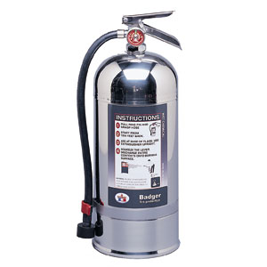 Badger Extra 6lit Wet Chemical Fire Extinguisher w/ Wall Hook