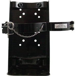 Clamp Type Vehicle Bracket for 10 & 15 lb CO2 Extinguishers