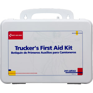 16-Unit Trucker First Aid Kit (Plastic)