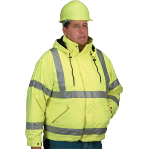 All Weather System Jacket, Lime, L