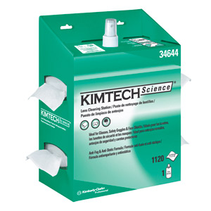 KIMTECH SCIENCE* KIMWIPES* Lens Cleaning Station