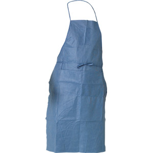 KLEENGUARD* A20 Breathable Particle Protection Aprons, Denim Blue