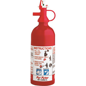 Kidde Pindicator 1 lb BC Fire Extinguisher w/ Wall Hook (Disposable)