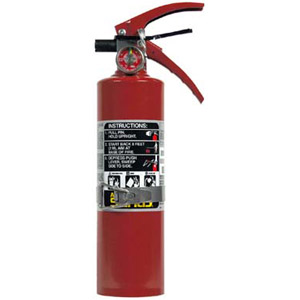 Ansul Sentry 2 1/2 lb ABC Fire Extinguisher w/ Vehicle Bracket
