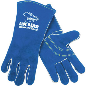 (DZ)GLOVES WELDABEAST WLRD BLUE