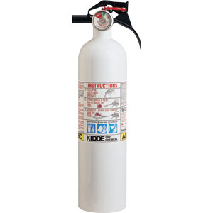 Kidde Mariner 2 1/4 lb ABC Fire Extinguisher w/ Nylon Strap Bracket (Disposable)