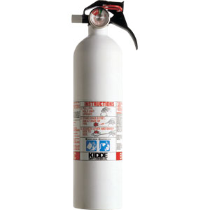 Kidde Mariner 2 3/4 lb BC Fire Extinguisher w/ Nylon Strap Bracket (Disposable)