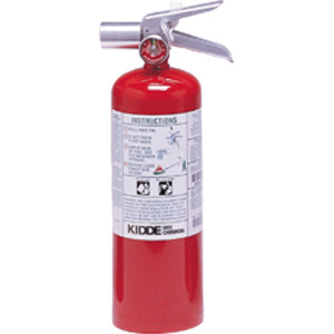 Kidde ProPlus 5 lb Halotron I Fire Extinguisher w/ Wall Hook