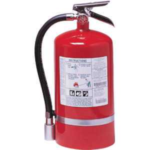 Kidde ProPlus 15 1/2 lb Halotron I Fire Extinguisher w/ Wall Hook
