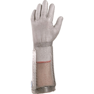 Chainex Chainexpert Mesh Gloves w/7 1/2&#34 Safety Cuff