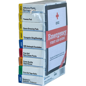 Refill for 10-Unit ANSI First Aid Kit