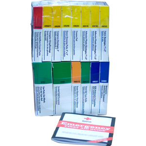 Refill for 16-Unit ANSI First Aid Kits