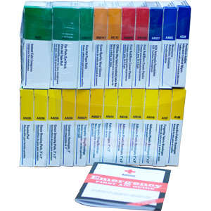 Refill for 24-Unit ANSI First Aid Kit
