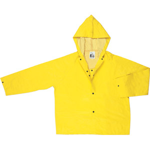 Concord Yellow Jacket w/Attached Hood and Snap Storm Fly Front