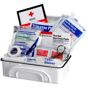 10-Person Contractor First Aid Kit (Plastic)
