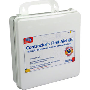 50-Person Contractor First Aid Kit (Plastic)