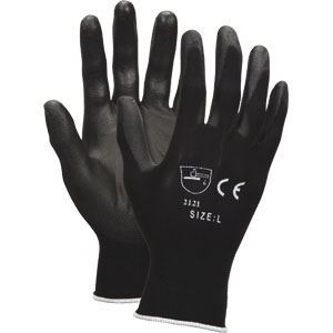 Value Series PU, Nylon/Polyurethane Gloves, M