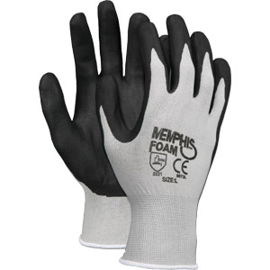 Foam Nitrile Palm and Fingers, L
