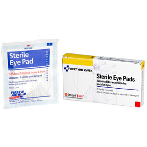 Sterile Oval Eye Pads, 2/Box