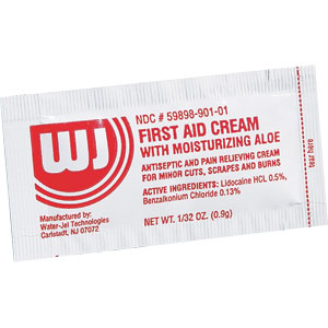 First Aid/Burn Cream, .9gm, 10/Box