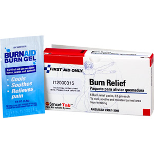 Burn Relief Gel, 3.5 gm, 6/Box
