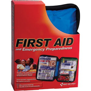 107-Piece Emergency Preparedness First Aid Kit w/Softpack Case