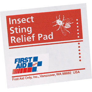 Insect Sting Relief Pads, 50/Box