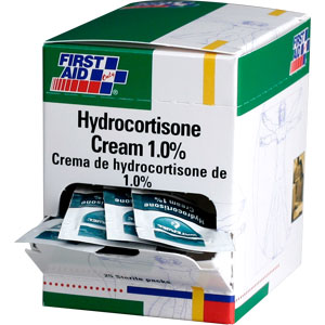 Hydrocortisone Cream 1.0%, 25/Box