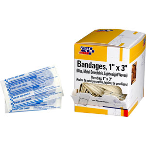 "1 3/4"" x 2"" Fingertip Bandage, 25/Box"
