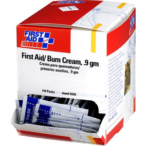 First Aid/Burn Cream, 25/Box