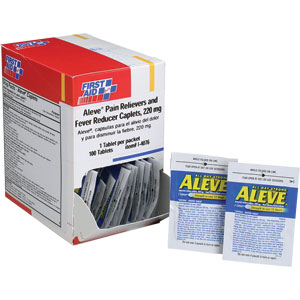 Aleve Pain Reliever and Fever Reducer Caplets
