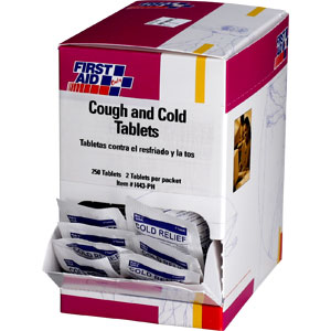 Cold and Cough Tablets (No PSE)